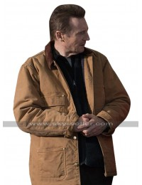 Liam Neeson Cold Pursuit Nels Brown Cotton Jacket
