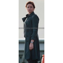 Rebecca Ferguson Mission Impossible Rogue Nation Ilsa Coat