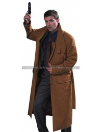 Blade Runner Harrison Ford (Rick Deckard) Brown Trench Coat