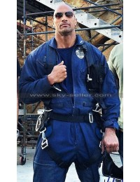 San Andreas Dwayne Johnson (Ray) Rescue Helicopter Jacket