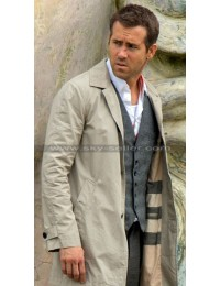 Selfless Ryan Reynolds Damian Trench Coat