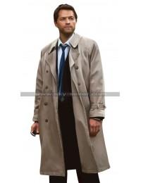 Supernatural Angel Castiel Trench Coat