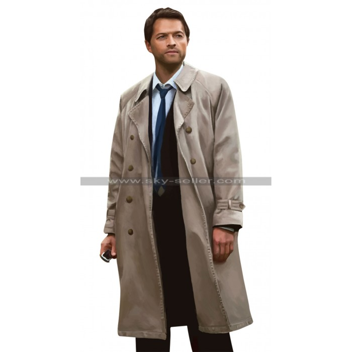 Supernatural Angel Castiel Trench Coat