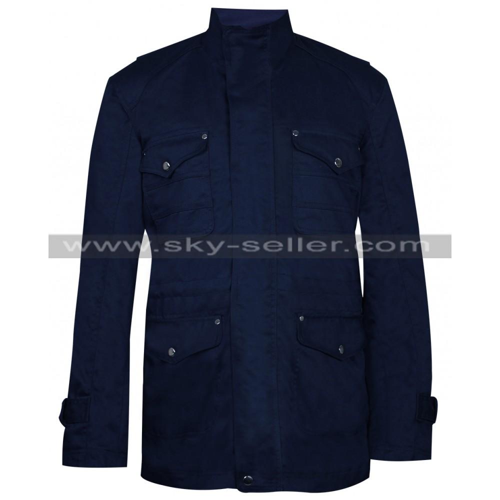 Supernatural S9 Dean Winchester Blue Cotton Jacket