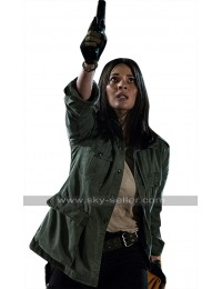 The Predator Olivia Munn (Casey Bracket) Green Cotton Jacket