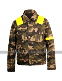 21 Twenty One Pilots Tyler Joseph Levitate Trench Camouflage Cotton Jacket