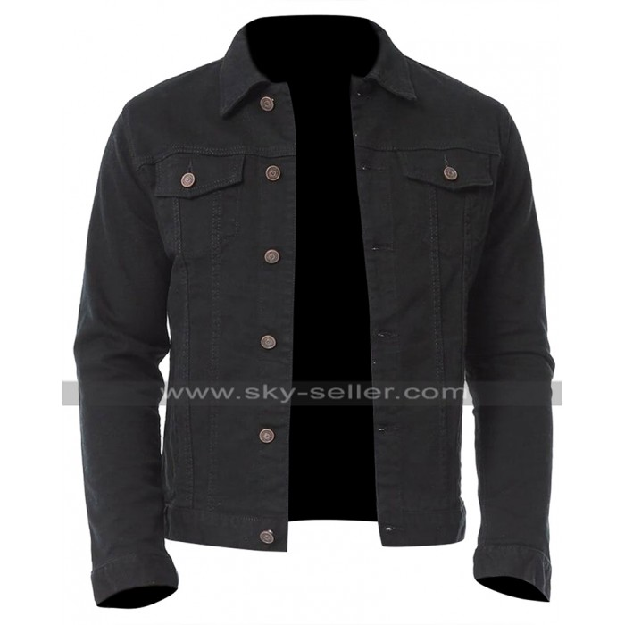 Venom Eddie Brock (Tom Hardy) Black Cotton Jacket