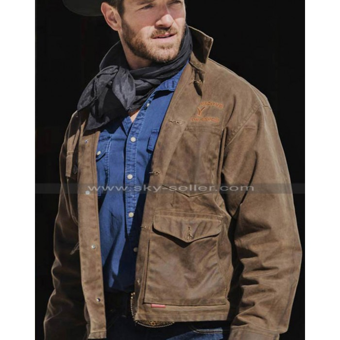 Yellowstone Ryan Brown Cotton Jacket