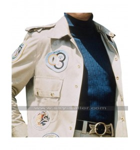 Six Million Dollar Man Steve Austin Patches Jacket