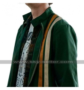 The Boys Jack Quaid Stripe Jacket