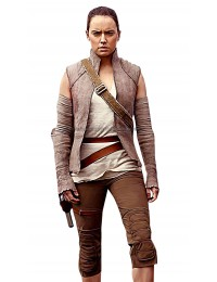 Star Wars The Last Jedi Rey Wool Costume Vest