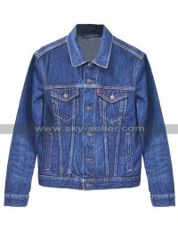 Judd Nelson The Breakfast Club John Bender Blue Denim Jacket