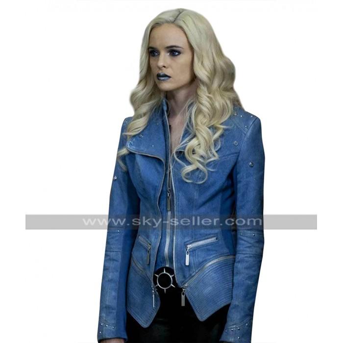 Killer Frost The Flash Season 4 Caitlin Snow Blue Costume Denim Jacket