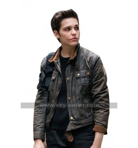 Sara Serraiocco Counterpart Baldwin Black Denim Jacket
