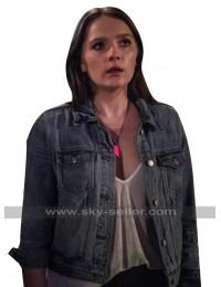 Natalie Hell Fest 2018 Amy Forsyth Blue Denim Jacket