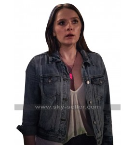 Natalie Hell Fest 2018 Amy Forsyth Blue Denim Jacket
