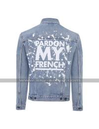 DJ Snake Pardon My French Sky Blue Denim Jacket