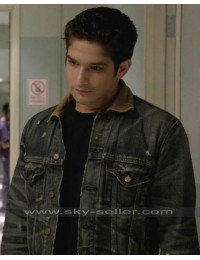Scott McCall Teen Wolf S4 Denim Jacket