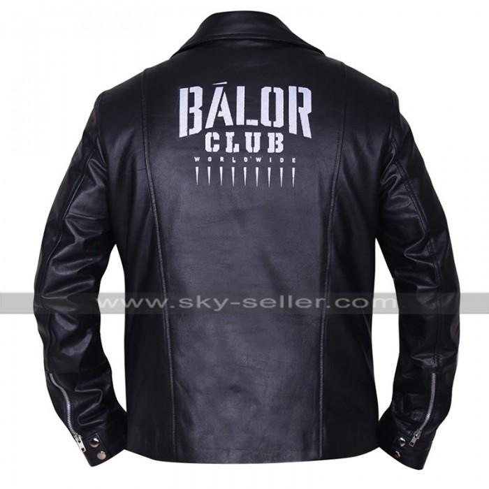 WWE Wrestler Finn Balor Club Black Biker Leather Jacket