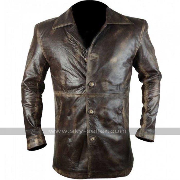 Dean Winchester Stolen S7 Vintage Distressed Leather Jacket