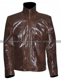 El Wray Planet Terror Freddy Rodriguez Brown Jacket