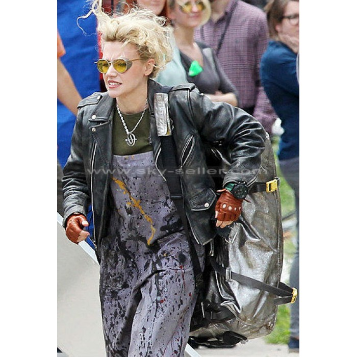 Ghostbusters Kate McKinnon (Jillian Holtzmann) Black Jacket