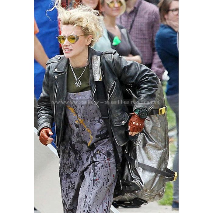 Ghostbusters Kate McKinnon (Jillian Holtzmann) Black Jacket