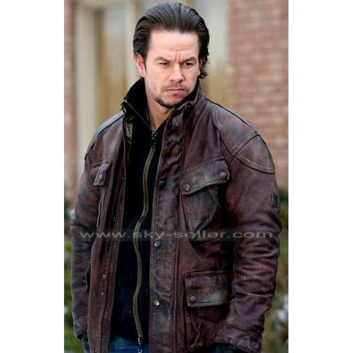 Mark Wahlberg Four Brothers Bobby Mercer Brown Jacket