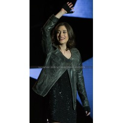 Now You See Me 2 Lizzy Caplan (Lula) Black Leather Jacket