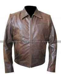 Paul Schulze Nurse Jackie Eddie Walzer Brown Jacket