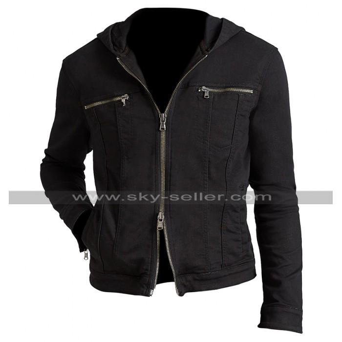 13 Reasons Why Clay Jensen (Dylan Minnette) Black Cotton Hoodie Jacket