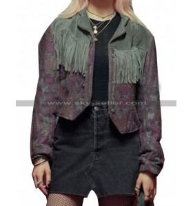 Sex Education Emma Mackey Leather Jacket