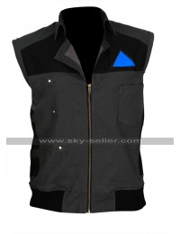 Detroit Become Human Android RK200 Markus Bomber Cotton Vest