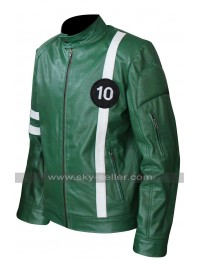 Ben Tennyson (Ryan Kelley) Ben 10 Leather Jacket