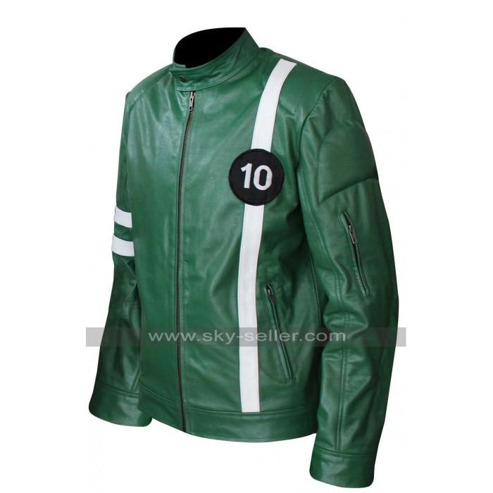 Ben Tennyson (Ryan Kelley) Ben 10 Leather Jacket