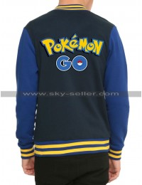 Pokemon Go Game Varsity Letterman Jacket