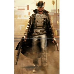 Call of Juarez Bound in Blood Cowboy Leather Coat