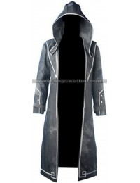 Corvo Attano Dishonored 2 Hooded Costume Coat