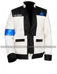 Detroit Become Human Upgraded Connor Android Rk900 Leather Jacket