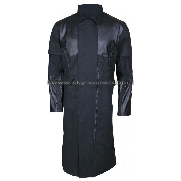 Deus Ex Mankind Divided Adam Jensen Black Coat