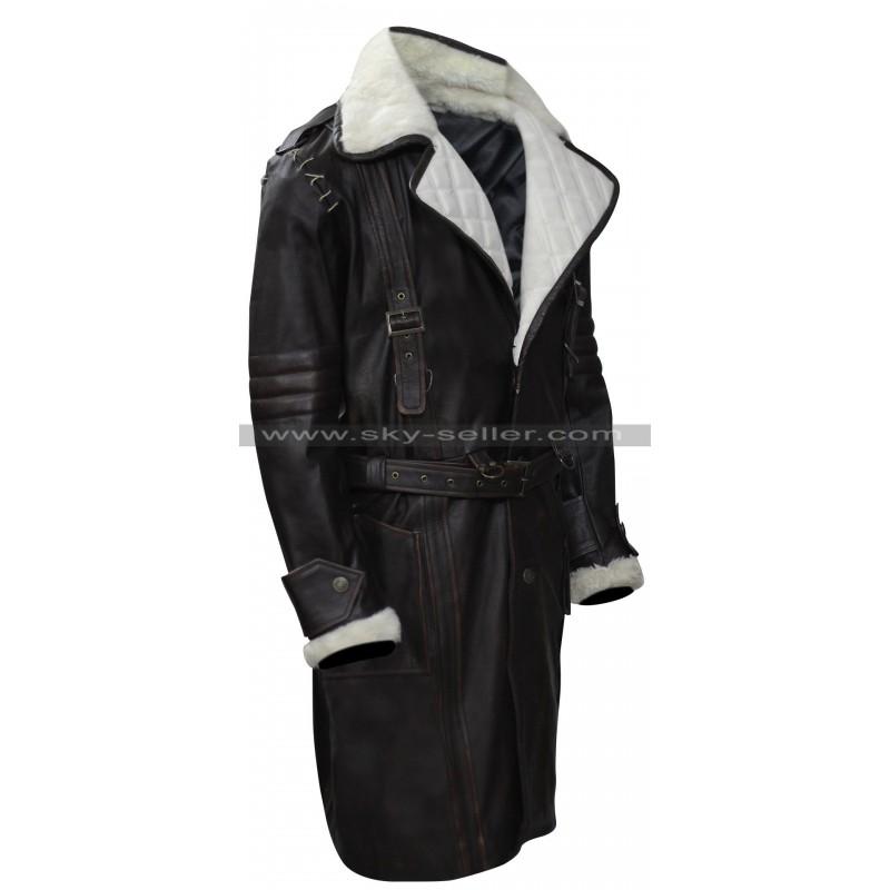 e1388836b Fallout 4 Elder Maxson Cosplay Fur Battle Coat