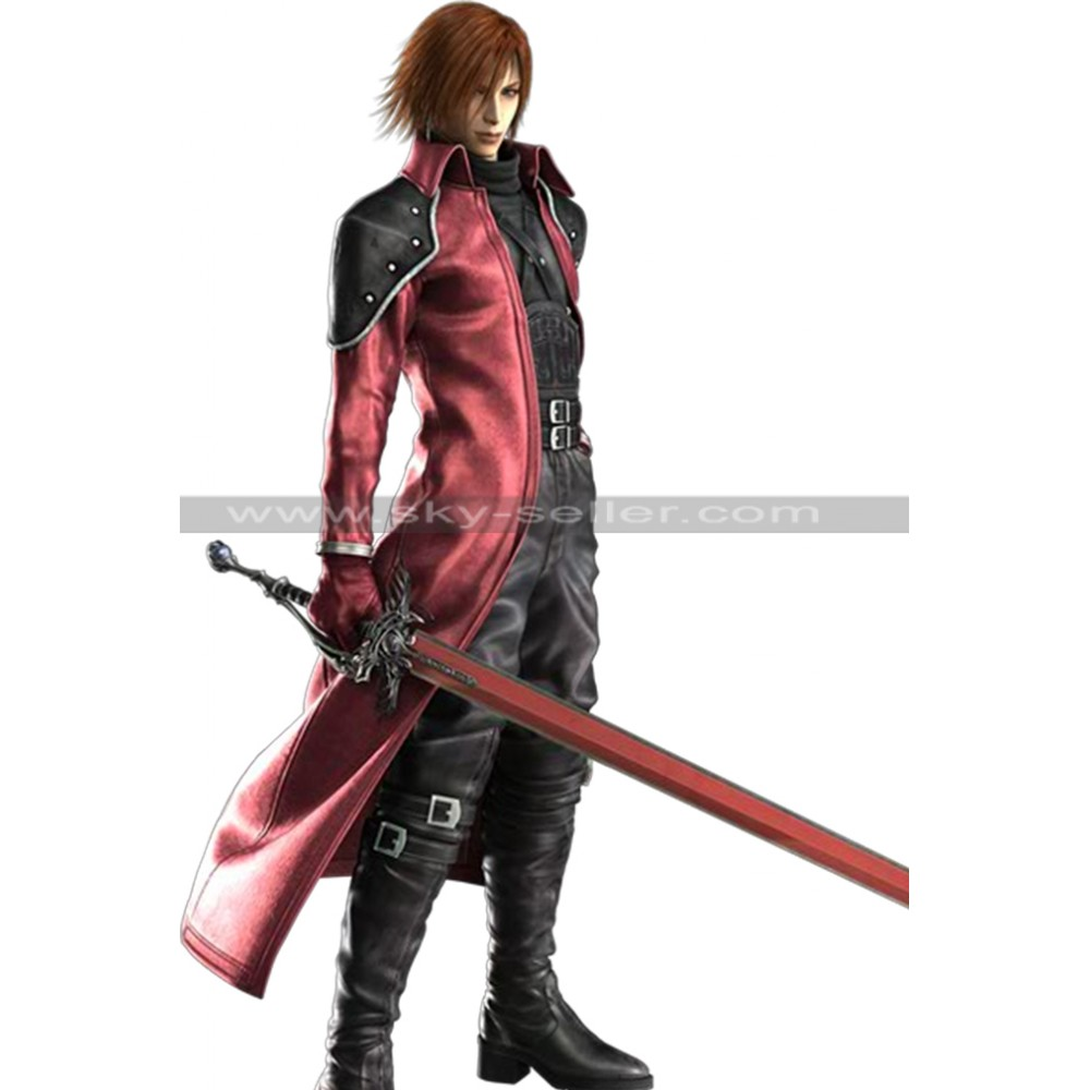 Final Fantasy VII Genesis Rhapsodos Antagonist Costume Coat
