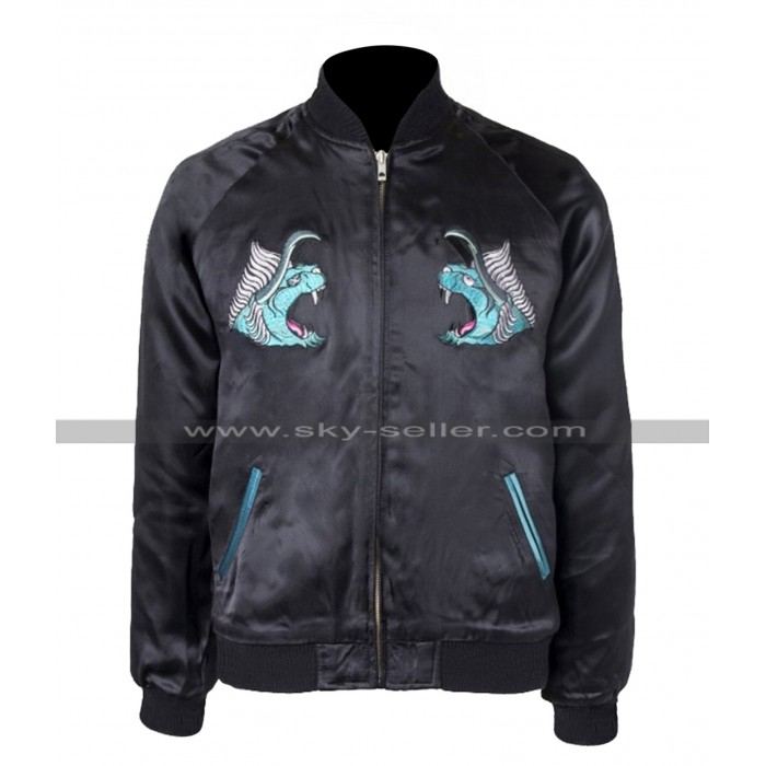 Final Fantasy XV Noctis Lucis Caelum Behemoth Bomber Leather Jacket