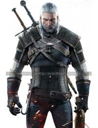 Witcher 3 Wild Hunt Geralt Warrior Leather Jacket