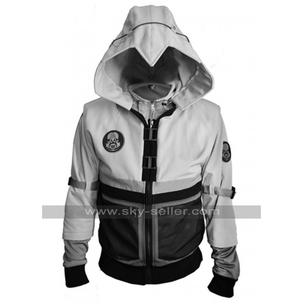 Assassin creed hoodie white