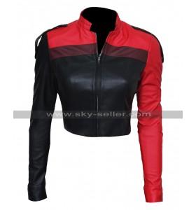 Injustice 2 Gods Among Us Harley Quinn Costume Leather Jacket