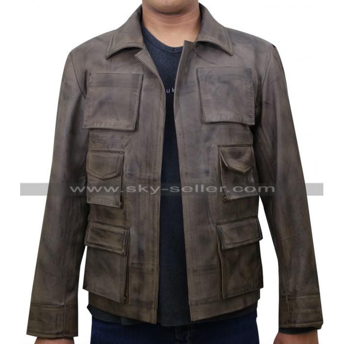 Jason Voorhees Mortal Kombat X Leather Jacket
