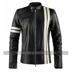 John Tanner Driver San Francisco Black Leather Jacket
