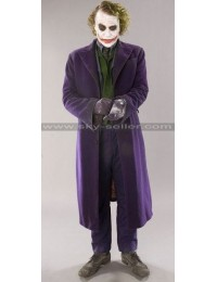 Batman Arkham Origins The Joker Purple Wool Coat