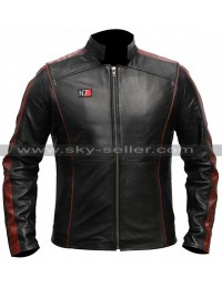 Mass Effect 4 N7 Armor Costume Leather Jacket